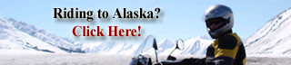 We are the largest aftermarket parts, accessory and motorcycle clothing store in Alaska. Drop in for a tire change, service or just about anything motorcycle on your Alaska adventure tour.