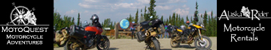 World-Wide Motorcycle Adventures. Motorcycle Rentals in Alaska.