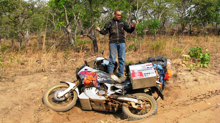 small-fall-off-road-in-Africa-with-heavy-bike
