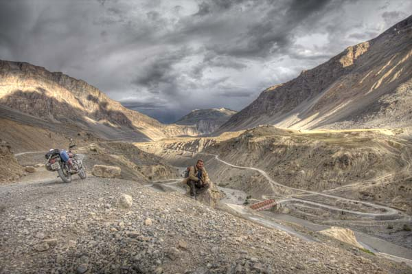 Photo by Igor Djokovic, Thailand; Stormy skies on the way to Kaza, Himachal Pradesh, India.