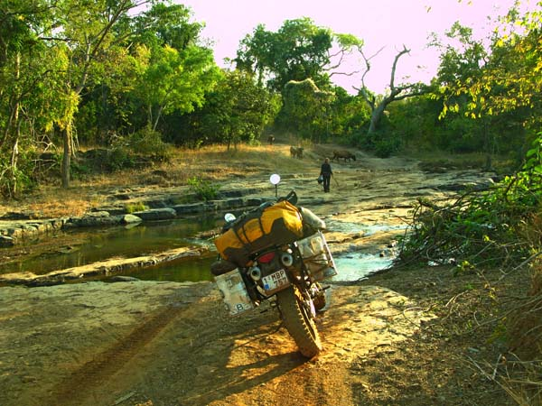 Photo by Maximilian Volders, Belgium; Guinea-Conakry, riding from Senegal border to Mali-Yembering in Guinea, Coast, KTM 950 Adventure.