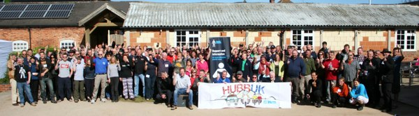 The HUBB UK 2013 Grand Charity Muster - photo courtesy of Dave Ettridge