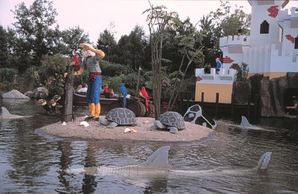 Pirate cove - Legoland, Billund, Denmark.