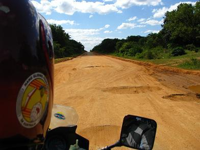 EN1- Main highway of Mozambique.