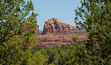 A scene from Red Rock State Park just outside of Sedona, Arizona.